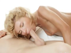 horny blonde Stephanie banged by lover tube porn video