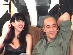 Naughty MILF feels horny so she sucks tube porn video