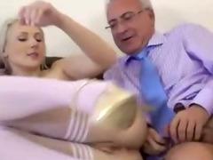 Teen slut fucks every old cock she meets tube porn video