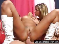 Rough teen anal pounding tube porn video