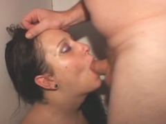 Brunette Amateur Girl Gets Face Fucked In Glory Booth tube porn video