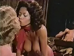Chocolate and White Chicks Sucking Cock 1970 tube porn video