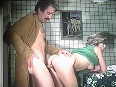 Horny Parents Fucking in the Kitchen 1970 tube porn video