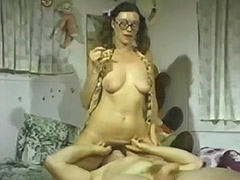 Crazy Home Video of Kinky Couple 1970 tube porn video