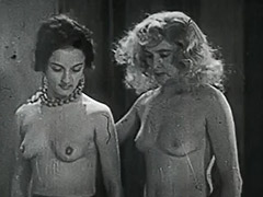 3 Horny Girls in a Guy's Dream 1950 tube porn video