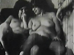 School Girls get a Hardcore Group Sex Lesson 1950 tube porn video