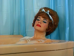 Redheaded Pornstar Takes a Hot Bath 1960 tube porn video