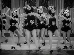 Burlesque Girls Dance on Stage 1940 tube porn video