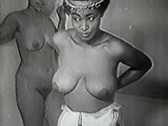 Erotic African Dancers get Naughty 1940 tube porn video