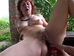 SEXY MOM n78 redhead mature anal tube porn video