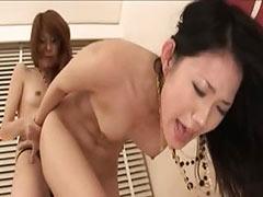 ultra sleek sexy asian lesbians tube porn video
