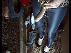 Cum on High Heels Mix 12 tube porn video
