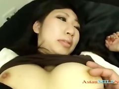 Milf In Skirt Getting Her Pussy Rubbed Stimulated With Vibrator On The Bed tube porn video