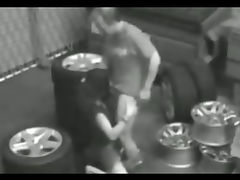 Garage Security Cam Hidden cam Fuck tube porn video