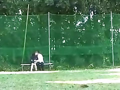 Daylight sex at the bench tube porn video