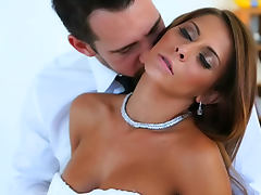 Cumshot on the asshole of Madison Ivy tube porn video