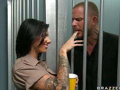 I Cumshot The Sheriff Juelz Vantura Hardcore Prison Rules tube porn video