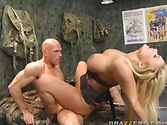 Sergeant Shyla Stylez Gets Fucked By A Recruit's Big Cock tube porn video