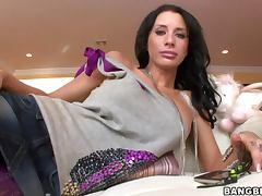 Lovely Brunette Slut Hard Anal Sex With Cumshot tube porn video