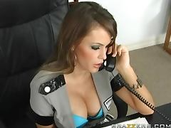 Officer Jenna Presley Getting Fucked By the Detective's Big Dick tube porn video