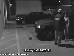 Parking Lot Action Caught By A Security Camera tube porn video