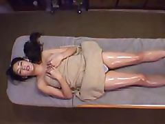 Sexy Japanese MILF With a Hairy Pussy Gets a Hot Lesbian Massage tube porn video