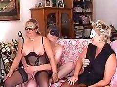 Amateur Lesbian Matures Go Wild In a Bonerific Masked Swingers Orgy tube porn video