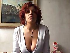 Naturally Busty Italian Amateur With a BDSM Fetish Gets Anal Fisted tube porn video