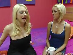 Hot Lesbian Action With Roommates Breanne Benson And Kagney Linn Karter tube porn video