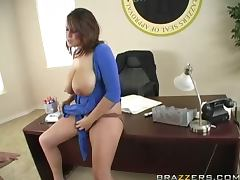 Busty Brandy Talore Taking a Big Cock for the Nation tube porn video