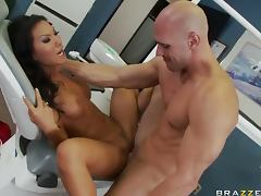 Hot Asian Doctor Asa Akira Deep Throating And Face Sitting a Patient tube porn video