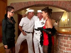 Sailors used by dominant women tube porn video