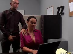 Huge Office Slut Mariah Milano Gets Fucked Hard In High Heels tube porn video