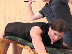 Caned across the ass and crying out tube porn video