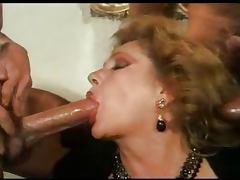 Marina Lotar Mature lady gangbanged tube porn video