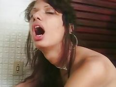 Latin shemale gets laid tube porn video