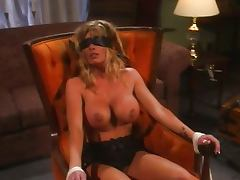 Busty chick bizzare sex while tied tube porn video