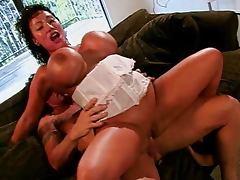 Ava Devine rammed double tube porn video