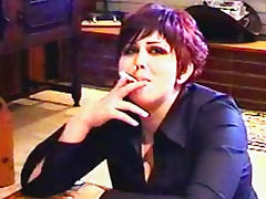 Goth girls smoking in fetish video tube porn video