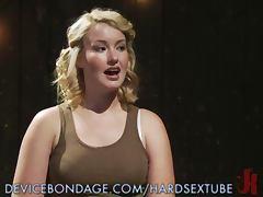 Curvey Sofia Lauryn in Sexy Bondage tube porn video