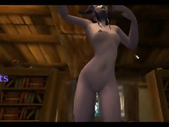 danceing wow char tube porn video