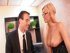Busty secretaries tube porn video