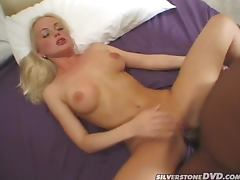 Silvia Saint Takes A Big Black Cock Up Her Butthole tube porn video