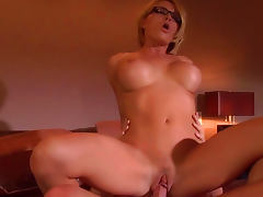 Hot sex with alluring beauty Krissy Lynn tube porn video