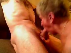 Granny Sucks Grandpa Off and Swallows by Sextonhardkastle tube porn video