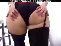 Big Ass Blonde Stockings tube porn video