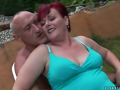 redhead grandma gets totally fucked tube porn video