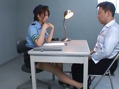 Japanese Policewoman Nanami Kawakami's Great Interrogating Skills tube porn video