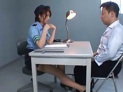 Japanese Policewoman Nanami Kawakami's Great Interrogating Skills tube porn video