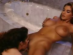 Lesbian strapon action tube porn video